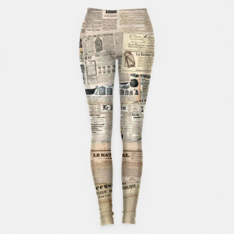 Thumbnail image of newspaper Leggings, Live Heroes