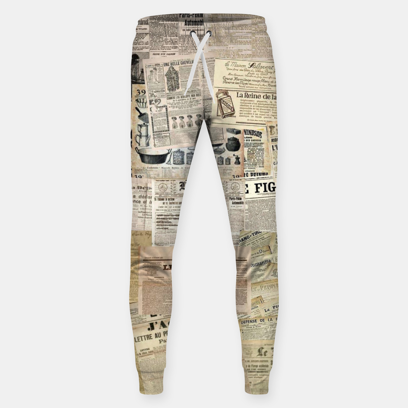 Image of newspaper Sweatpants - Live Heroes