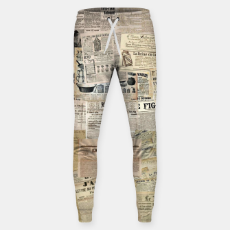 newspaper Sweatpants thumbnail image