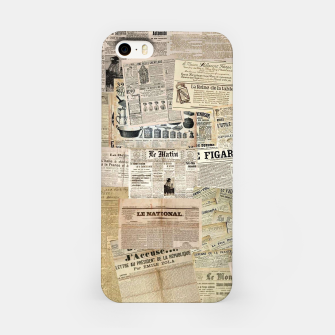 newspaper iPhone Case thumbnail image