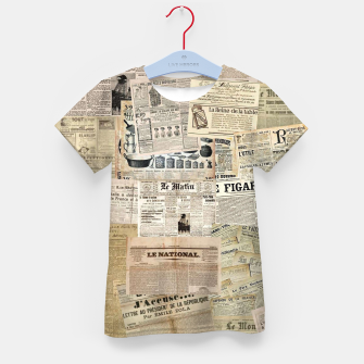 newspaper Kid's t-shirt thumbnail image