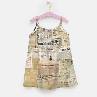 newspaper Girl's dress thumbnail image
