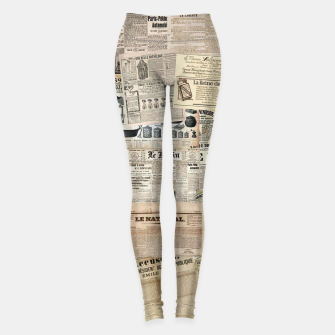 newspaper Leggings thumbnail image