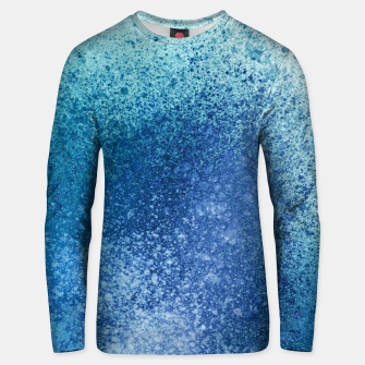 Thumbnail image of Aqua Blue Blends Spray Paint Art Unisex sweater, Live Heroes