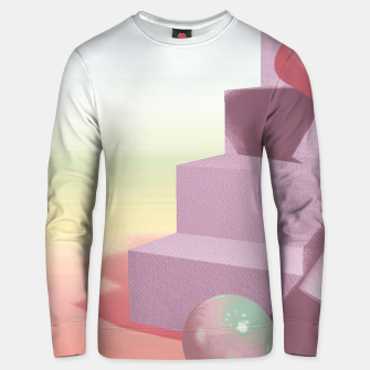 Thumbnail image of 3D abstract space Unisex sweater, Live Heroes