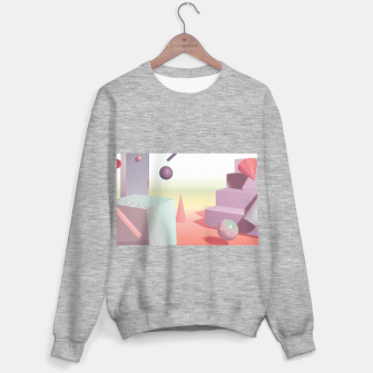 Thumbnail image of 3D abstract space Sweater regular, Live Heroes