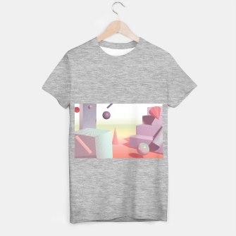 Thumbnail image of 3D abstract space T-shirt regular, Live Heroes