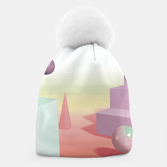 Thumbnail image of 3D abstract space Beanie, Live Heroes