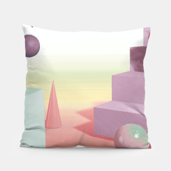 Thumbnail image of 3D abstract space Pillow, Live Heroes