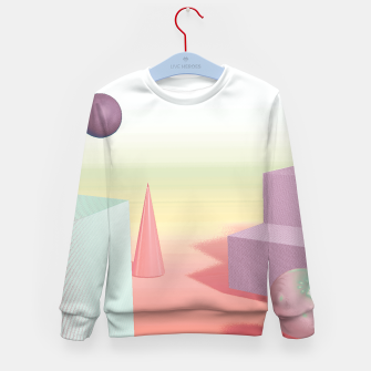 Thumbnail image of 3D abstract space Kid's sweater, Live Heroes