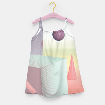 Thumbnail image of 3D abstract space Girl's dress, Live Heroes