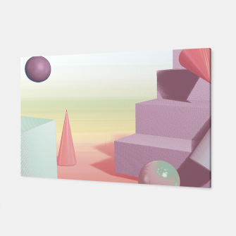 Thumbnail image of 3D abstract space Canvas, Live Heroes