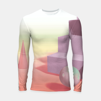 Thumbnail image of 3D abstract space Longsleeve rashguard , Live Heroes