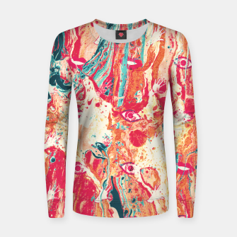 Thumbnail image of Senses pouring III Women sweater, Live Heroes
