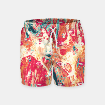 Thumbnail image of Senses pouring III Swim Shorts, Live Heroes