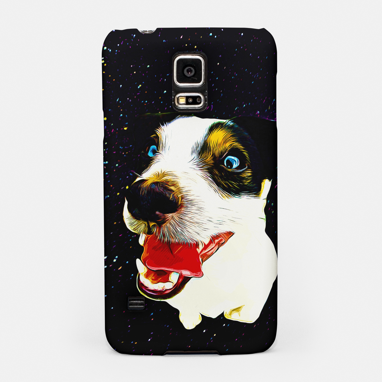 Image of jack russell terrier dog space crazy va Samsung Case - Live Heroes