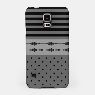 Thumbnail image of Polka Dots And Stripes Pattern  Samsung Case, Live Heroes