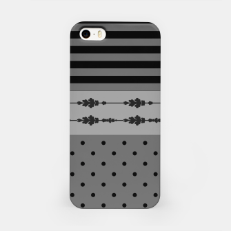 Thumbnail image of Polka Dots And Stripes Pattern  iPhone Case, Live Heroes