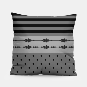 Thumbnail image of Polka Dots And Stripes Pattern  Pillow, Live Heroes