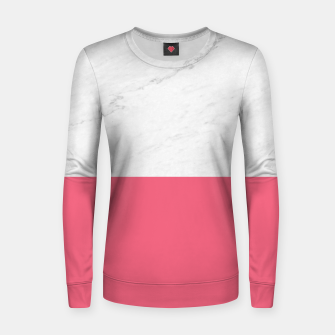 Marble vs Pink  Women sweater thumbnail image