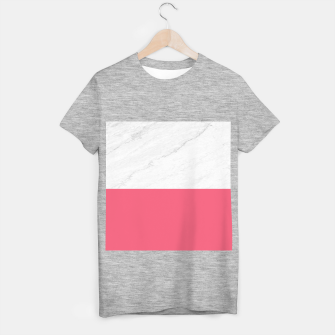 Marble vs Pink  T-shirt regular thumbnail image