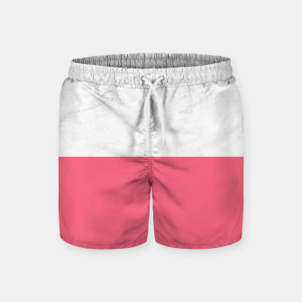 Marble vs Pink  Swim Shorts thumbnail image