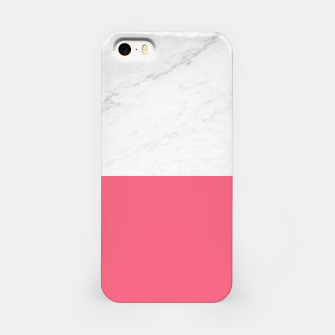 Marble vs Pink  iPhone Case thumbnail image