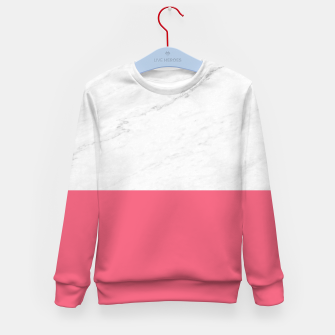 Marble vs Pink  Kid's sweater thumbnail image
