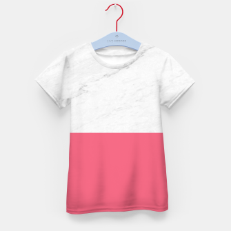 Marble vs Pink  Kid's t-shirt thumbnail image
