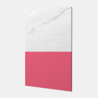 Marble vs Pink  Canvas thumbnail image
