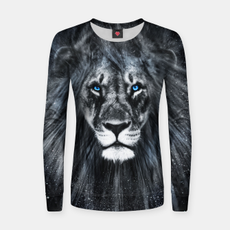 Miniatur The Dark Lion Frauen sweatshirt, Live Heroes