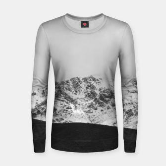 Thumbnail image of Snowy Mountain Women sweater, Live Heroes