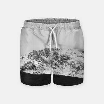 Thumbnail image of Snowy Mountain Swim Shorts, Live Heroes