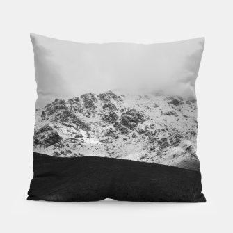 Thumbnail image of Snowy Mountain Pillow, Live Heroes