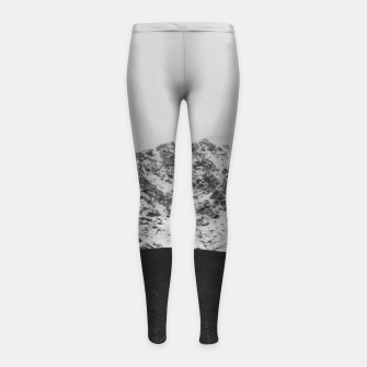 Thumbnail image of Snowy Mountain Girl's leggings, Live Heroes