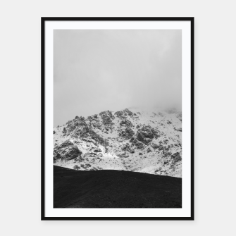 Thumbnail image of Snowy Mountain Framed poster, Live Heroes