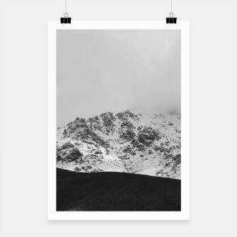 Thumbnail image of Snowy Mountain Poster, Live Heroes