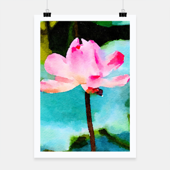 Thumbnail image of Lotus Poster, Live Heroes