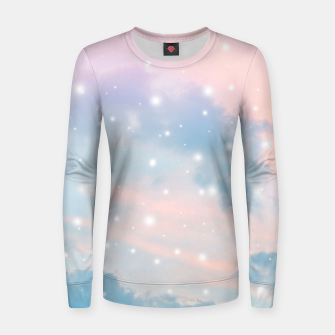 Thumbnail image of Pastel Cosmos Dream #2 #decor #art  Frauen sweatshirt, Live Heroes