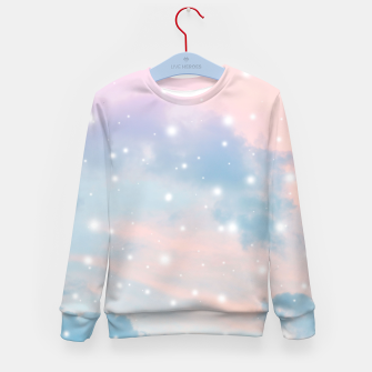 Thumbnail image of Pastel Cosmos Dream #2 #decor #art  Kindersweatshirt, Live Heroes