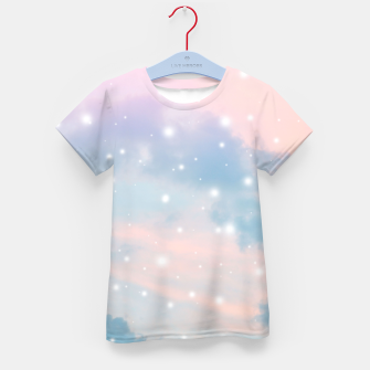 Thumbnail image of Pastel Cosmos Dream #2 #decor #art  T-Shirt für kinder, Live Heroes