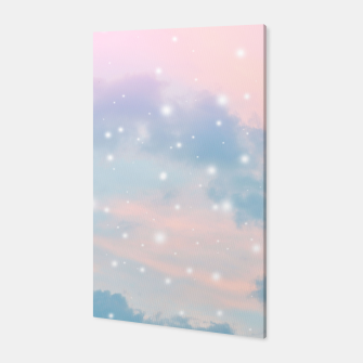 Thumbnail image of Pastel Cosmos Dream #2 #decor #art  Canvas, Live Heroes