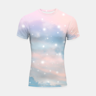 Thumbnail image of Pastel Cosmos Dream #2 #decor #art  Shortsleeve rashguard, Live Heroes