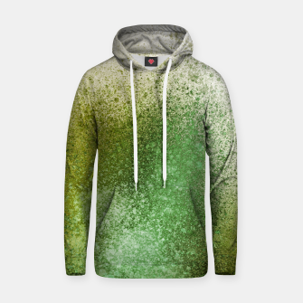 Thumbnail image of Earthy Green Paint Splatter Hoodie, Live Heroes
