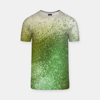 Thumbnail image of Earthy Green Paint Splatter T-shirt, Live Heroes