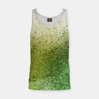 Thumbnail image of Earthy Green Paint Splatter Tank Top, Live Heroes