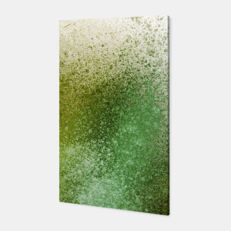 Thumbnail image of Earthy Green Paint Splatter Canvas, Live Heroes