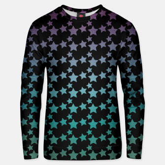 Thumbnail image of Stars gradient pattern Unisex sweater, Live Heroes