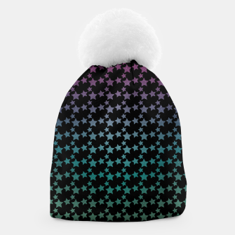 Thumbnail image of Stars gradient pattern Beanie, Live Heroes