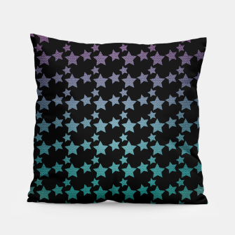 Thumbnail image of Stars gradient pattern Pillow, Live Heroes